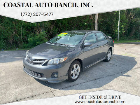 2013 Toyota Corolla for sale at Coastal Auto Ranch, Inc. in Port Saint Lucie FL