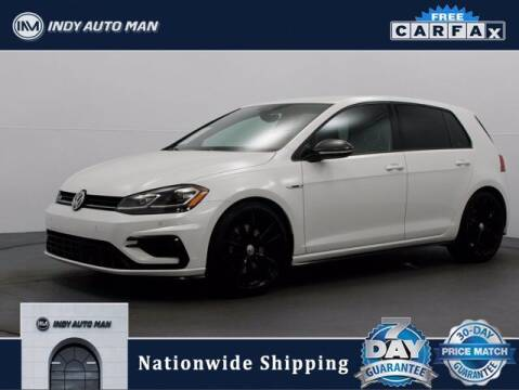 2019 Volkswagen Golf R for sale at INDY AUTO MAN in Indianapolis IN