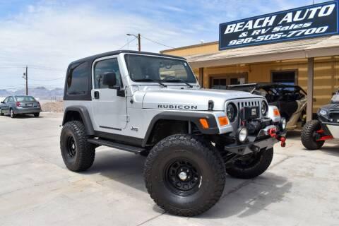 2004 Jeep Wrangler for sale at Beach Auto and RV Sales in Lake Havasu City AZ