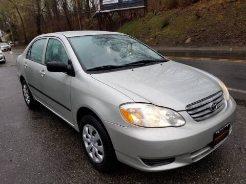 2003 Toyota Corolla for sale at Bloomingdale Auto Group in Bloomingdale NJ