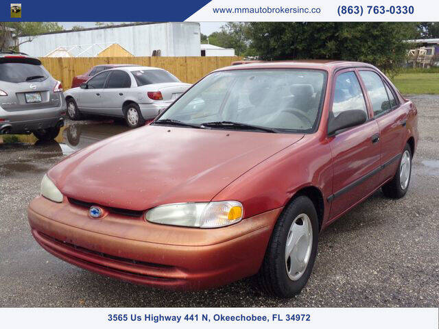 2001 Chevrolet Prizm for sale at M & M AUTO BROKERS INC in Okeechobee FL