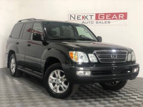 2004 Lexus LX 470 for sale at Next Gear Auto Sales in Westfield IN