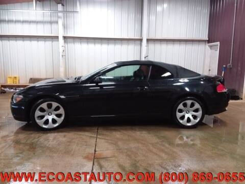 2007 BMW 6 Series for sale at East Coast Auto Source Inc. in Bedford VA