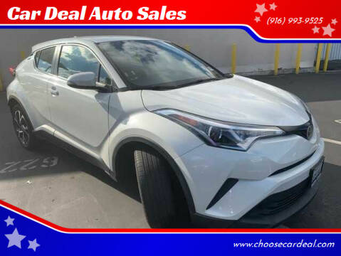 2018 Toyota C-HR for sale at Car Deal Auto Sales in Sacramento CA