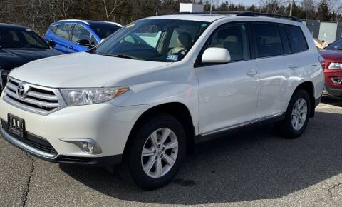 2012 Toyota Highlander for sale at Broadway Garage of Columbia County Inc. in Hudson NY