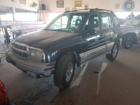 2002 Chevrolet Tracker for sale at PYRAMID MOTORS - Pueblo Lot in Pueblo CO