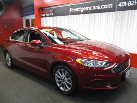 2017 Ford Fusion for sale at Prestige Motorcars in Warwick RI