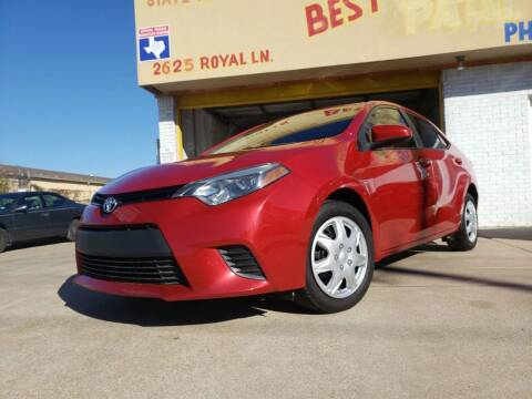 2014 Toyota Corolla for sale at Best Royal Car Sales in Dallas TX