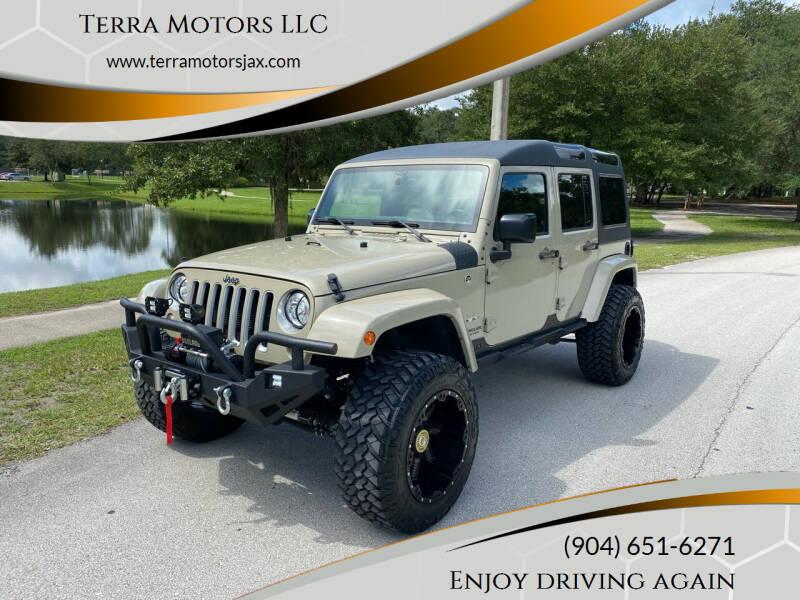 2017 Jeep Wrangler Unlimited for sale at Terra Motors LLC in Jacksonville FL