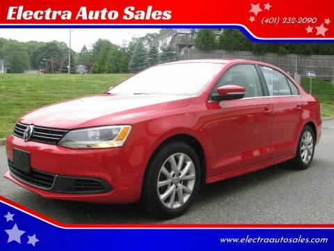 2014 Volkswagen Jetta for sale at Electra Auto Sales in Johnston RI