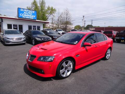 2009 Pontiac G8 for sale at Surfside Auto Company in Norfolk VA