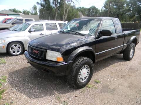 2001 GMC Sonoma for sale at Cimino Auto Sales in Fountain CO