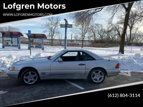 1997 Mercedes-Benz SL-Class for sale at Lofgren Motors in Wayzata MN
