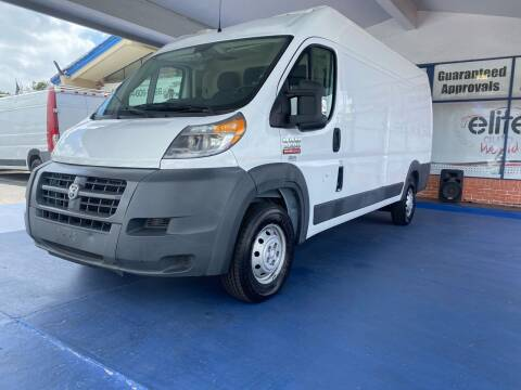 2015 RAM ProMaster Cargo for sale at ELITE AUTO WORLD in Fort Lauderdale FL