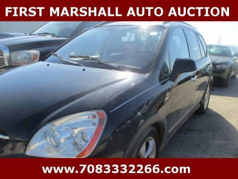 2008 Kia Rondo for sale at First Marshall Auto Auction in Harvey IL
