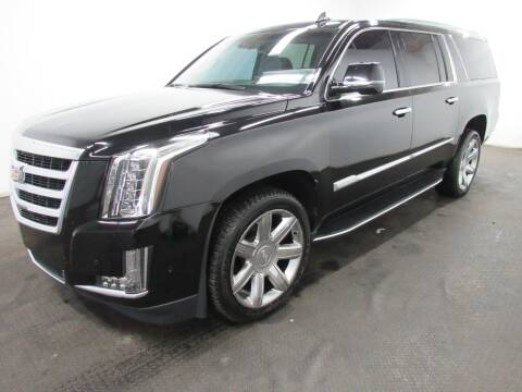 2017 Cadillac Escalade ESV for sale at Automotive Connection in Fairfield OH