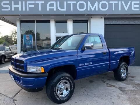 1995 Dodge Ram Pickup 1500 for sale at Shift Automotive in Denver CO