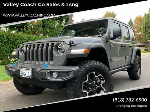 2021 Jeep Wrangler Unlimited for sale at Valley Coach Co Sales & Lsng in Van Nuys CA