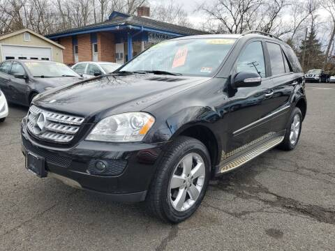 2007 Mercedes-Benz M-Class for sale at CENTRAL GROUP in Raritan NJ
