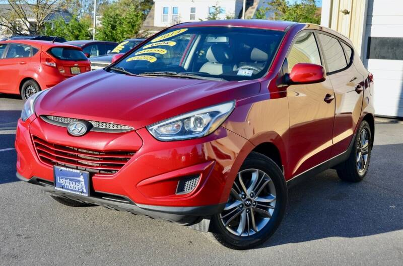 2014 Hyundai Tucson for sale at Lighthouse Motors Inc. in Pleasantville NJ
