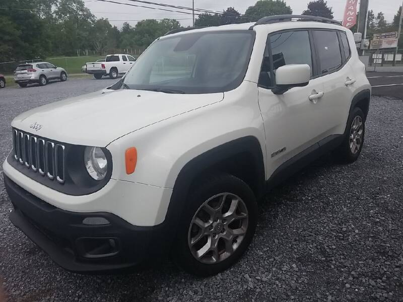 2016 Jeep Renegade for sale at Cascade Used Auto Sales in Martinsburg WV
