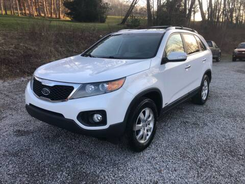 2011 Kia Sorento for sale at R.A. Auto Sales in East Liverpool OH