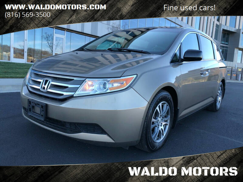 2012 Honda Odyssey for sale at WALDO MOTORS in Kansas City MO