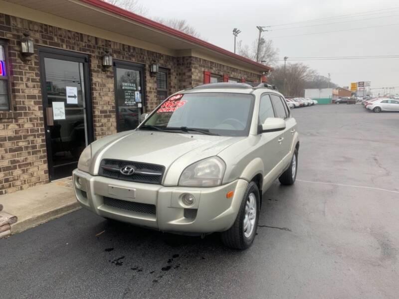 2006 Hyundai Tucson for sale at Smyrna Auto Sales in Smyrna TN