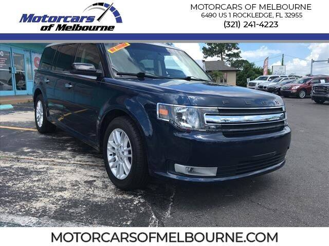 2017 Ford Flex for sale at Motorcars of Melbourne in Rockledge FL