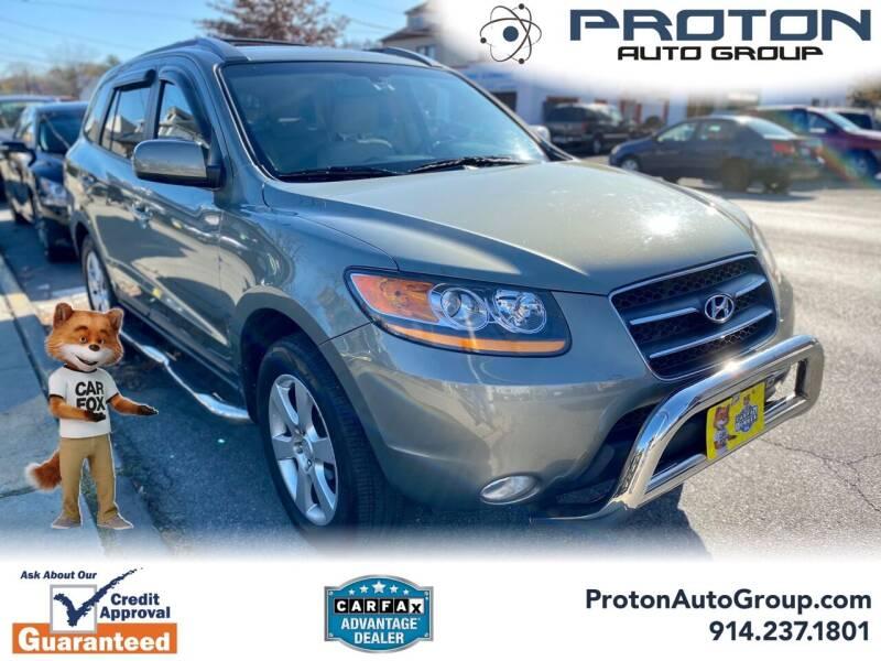 2009 Hyundai Santa Fe for sale at Proton Auto Group in Yonkers NY