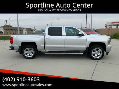 2014 Chevrolet Silverado 1500 for sale at Sportline Auto Center in Columbus NE