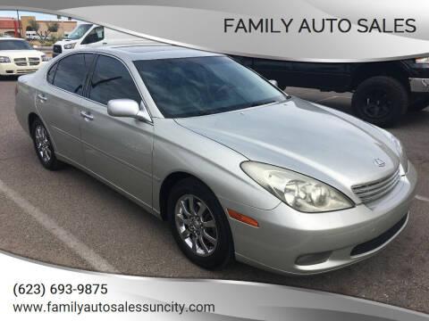 2004 Lexus ES 330 for sale at FAMILY AUTO SALES in Sun City AZ