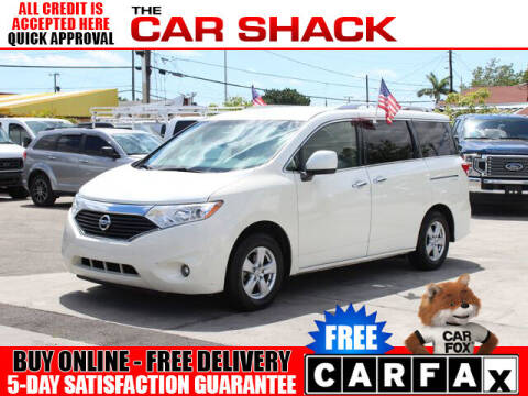 2017 Nissan Quest for sale at The Car Shack in Hialeah FL