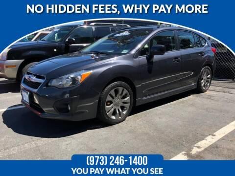 2014 Subaru Impreza for sale at Route 46 Auto Sales Inc in Lodi NJ