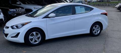2015 Hyundai Elantra for sale at Broadway Garage of Columbia County Inc. in Hudson NY