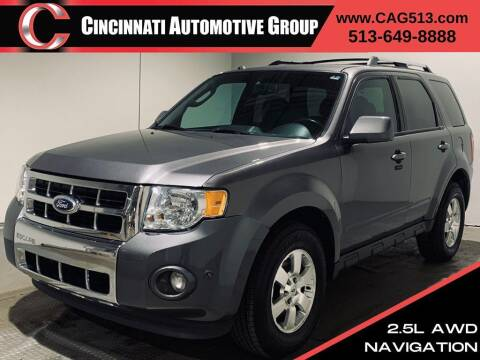 2012 Ford Escape for sale at Cincinnati Automotive Group in Lebanon OH