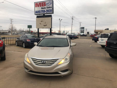 2011 Hyundai Sonata for sale at MB Auto Sales in Oklahoma City OK