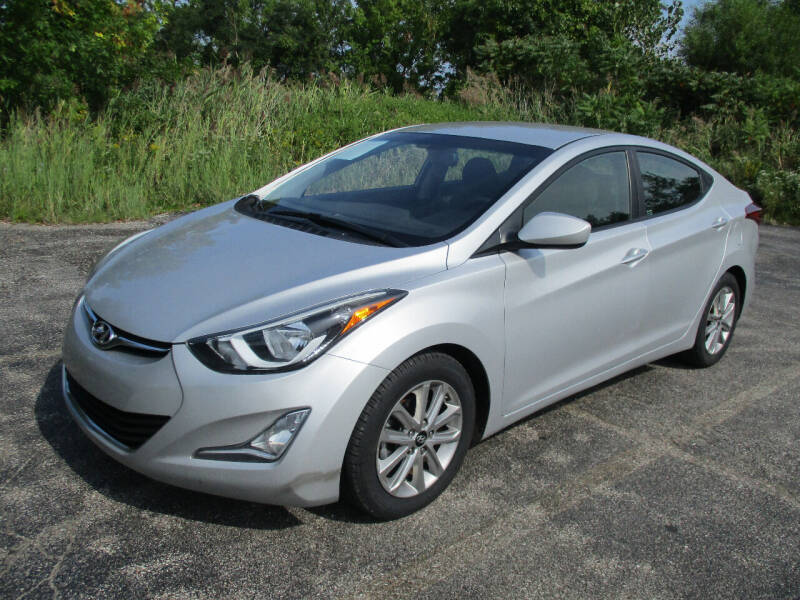 2015 Hyundai Elantra for sale at Action Auto Wholesale - 30521 Euclid Ave. in Willowick OH