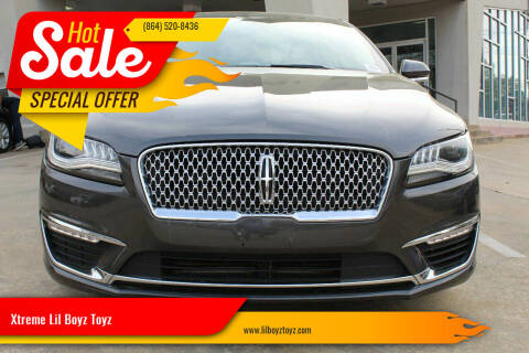 2017 Lincoln MKZ for sale at Xtreme Lil Boyz Toyz in Greenville SC