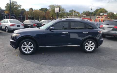 2006 Infiniti FX35 for sale at BWK of Columbia in Columbia SC