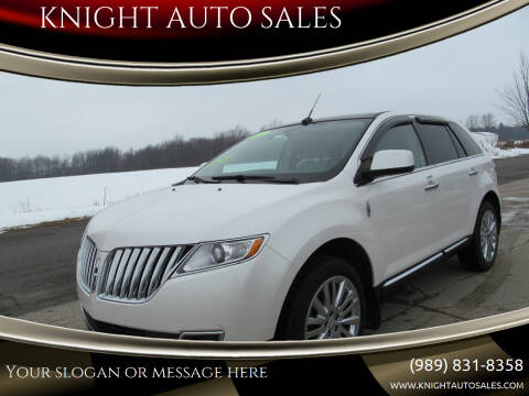 2011 Lincoln MKX for sale at KNIGHT AUTO SALES in Stanton MI