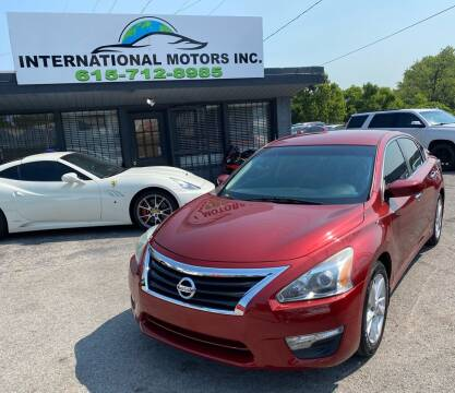 2014 Nissan Altima for sale at International Motors Inc. in Nashville TN