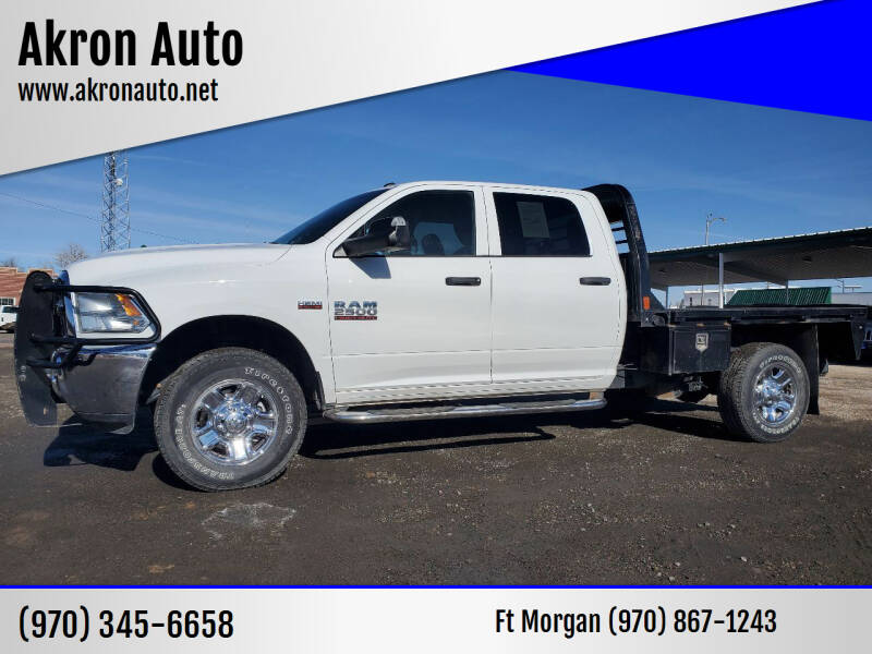2018 RAM Ram Pickup 2500 for sale at Akron Auto in Akron CO
