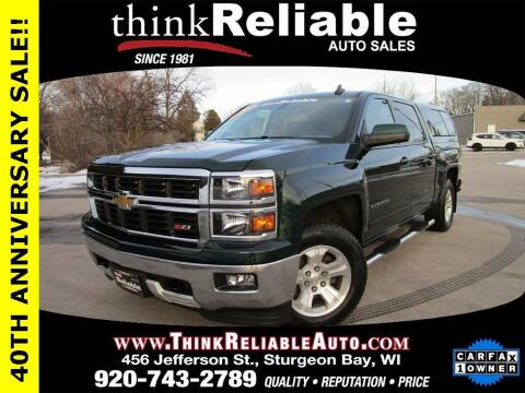 2015 Chevrolet Silverado 1500 for sale at RELIABLE AUTOMOBILE SALES, INC in Sturgeon Bay WI