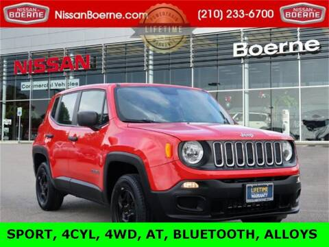 2018 Jeep Renegade for sale at Nissan of Boerne in Boerne TX