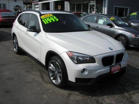 2014 BMW X1 for sale at CLASSIC MOTOR CARS in West Allis WI