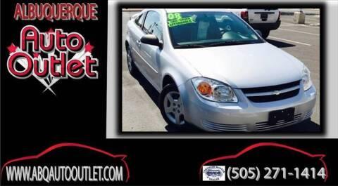 2008 Chevrolet Cobalt for sale at ALBUQUERQUE AUTO OUTLET in Albuquerque NM