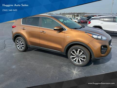 2017 Kia Sportage for sale at Huggins Auto Sales in Hartford City IN