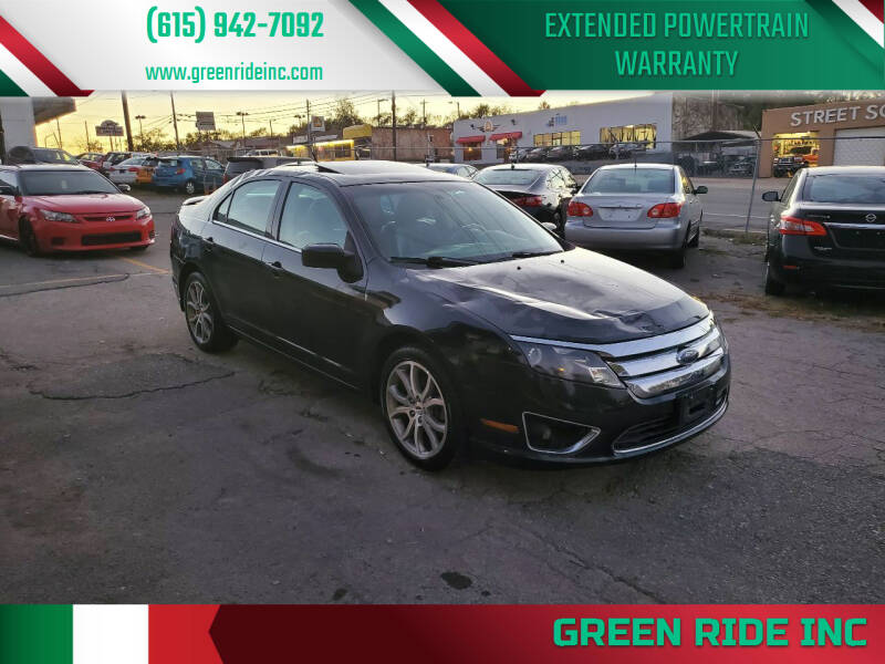 2010 Ford Fusion for sale at Green Ride Inc in Nashville TN