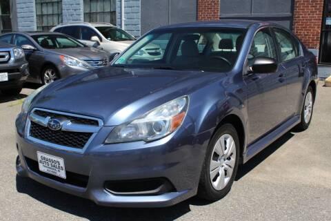 2013 Subaru Legacy for sale at Grasso's Auto Sales in Providence RI